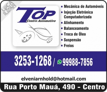TOP CENTRO AUTOMOTIVO MECÂNICA