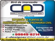 Cartão: MK PROJETOS E EXECUÇÃO DE OBRAS / MARKIS A. B. FERNANDES