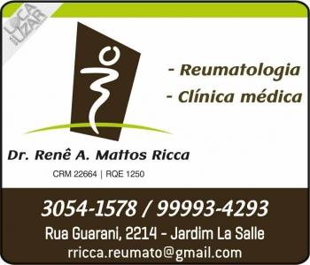 CLÍNICA DE REUMATOLOGIA