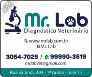 MR. LAB DIAGNÓSTICO VETERINÁRIO LABORATÓRIO
