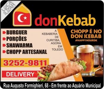 DON KEBAB RESTAURANTE / LANCHES / CHOPERIA