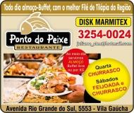PONTO DO PEIXE / RESTAURANTE / PIZZARIA / DISK MARMITEX