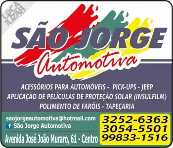 SÃO JORGE AUTOMOTIVA ACESSÓRIOS AUTOMOTIVOS