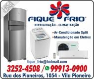 FIQUE FRIO REFRIGERAÇÃO / AR-CONDICIONADO RESIDENCIAL / AUTOMOTIVO CLIMATIZAÇÃO