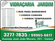 Cartão: JARDIM VIDRAÇARIA