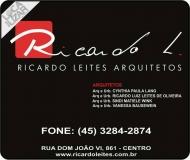 RICARDO LUIZ LEITES DE OLIVEIRA - Arquitetura e Urbanismo ARQUITETOS