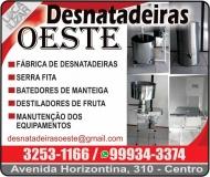 OESTE DESNATADEIRAS FÁBRICA