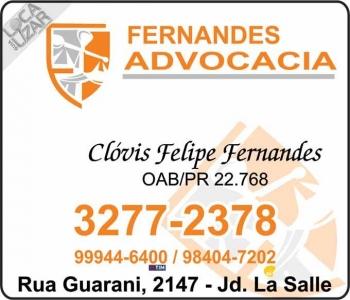 ADVOCACIA CLÓVIS FELIPE FERNANDES / DIREITO TRABALHISTA E PREVIDENCIÁRIO