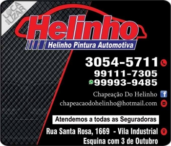 HELINHO CHAPEAÇÃO E PINTURA AUTOMOTIVA