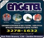 ENGETEL ENGENHARIA ELÉTRICA / TELECOM / AUTOMAÇÃO INDUSTRIAL