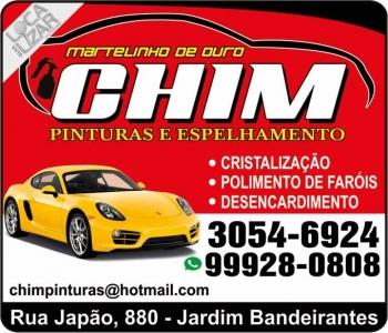 CHIM CHAPEAÇÃO E PINTURA AUTOMOTIVA