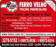 HEISS FERRO VELHO COMÉRCIO DE FERRO E AÇO