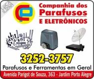COMPANHIA DOS PARAFUSOS / FERRAMENTAS E ELETRÔNICOS