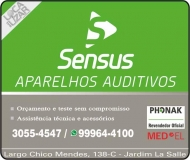 SENSUS APARELHOS AUDITIVOS CENTRO AUDITIVO
