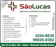 CLÍNICA DE SAÚDE MEDICINA E SEGURANÇA DO TRABALHO / SÃO LUCAS