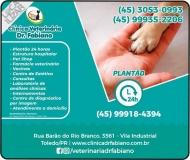 DR. FABIANO CLÍNICA VETERINÁRIA E PET SHOP / ORTOPEDIA / CARDIOLOGIA CANINA
