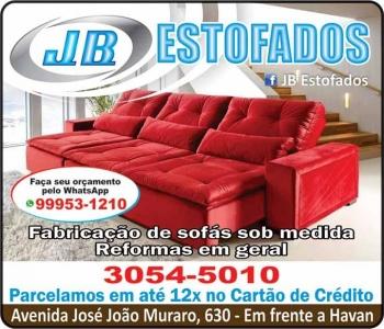 JB ESTOFADOS / ESTOFARIA