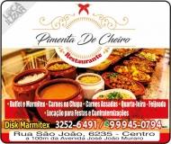 PIMENTA DE CHEIRO RESTAURANTE / DISK MARMITEX
