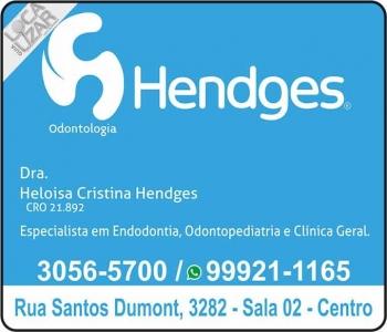 CIRURGIÃO DENTISTA HELOISA CRISTINA HENDGES / ENDODONTISTA
