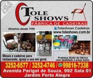 TOLESHOWS FÁBRICA DE CADEIRAS