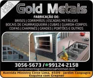 GOLD METAIS METALÚRGICA E ESTRUTURAS METÁLICAS