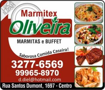 OLIVEIRA RESTAURANTE / BUFFET / DISK MARMITEX