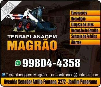 MAGRÃO TERRAPLANAGEM