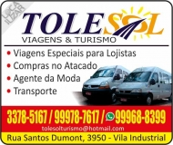TOLESOL VIAGENS & TURISMO