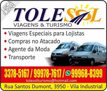 TOLESOL VIAGENS E TURISMO