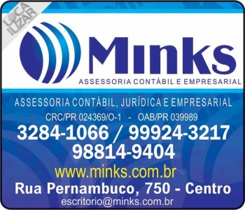 MINKS ESCRITÓRIO CONTÁBIL E ASSESSORIA EMPRESARIAL<br>CONTABILIDADE