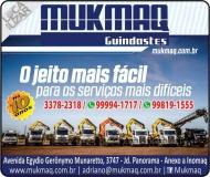 MUKMAQ GUINDASTES TRANSPORTE DE MÁQUINAS / GUINCHOS / LOCAÇÃO DE CAMINHÃO MUNCK