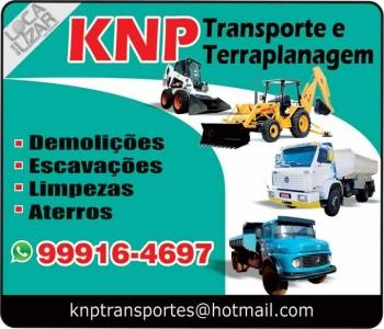 KNP TRANSPORTE E TERRAPLANAGEM