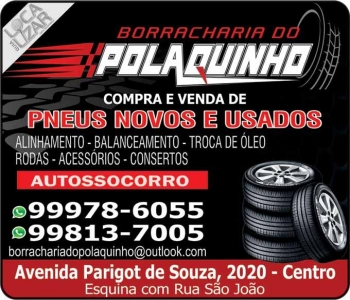 POLAQUINHO BORRACHARIA DO POLAQUINHO