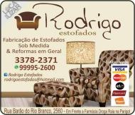 RODRIGO ESTOFADOS / ESTOFARIA