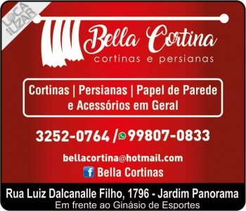BELLA CORTINA CORTINAS / PERSIANAS