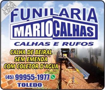MARIO CALHAS FUNILARIA
