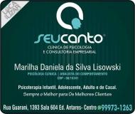 CLÍNICA DE PSICOLOGIA MARILHA DANIELA DA SILVA LISOWSKI / PSICÓLOGA / SEU CANTO