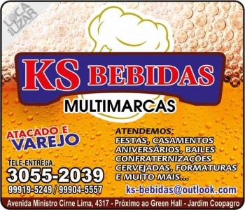 KS DISTRIBUIDORA DE BEBIDAS / CARVÃO / GELO