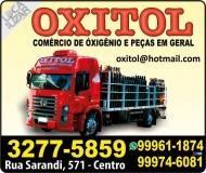 OXITOL COMÉRCIO DE OXIGÊNIO / PEÇAS