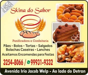 SKINA DO SABOR PANIFICADORA / CONFEITARIA