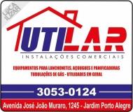 UTILAR INSTALAÇÕES COMERCIAIS / VENDA / MANUTENÇÃO DE EQUIPAMENTOS A GÁS