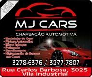 MJ CARS CHAPEAÇÃO E PINTURA AUTOMOTIVA