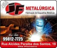 JF METALÚRGICA E ESQUADRIAS METÁLICAS