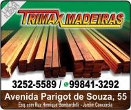 TRIMAX MADEIRAS NOBRES / BRUTAS / BENEFICIADAS EM TOLEDO PR