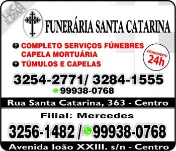SANTA CATARINA FUNERÁRIA SERVIÇOS FÚNEBRES / TÚMULOS E CAPELA MORTUÁRIA