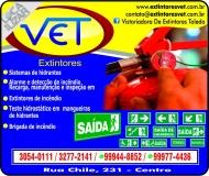 VET EXTINTORES / VISTORIADORA DE EXTINTORES TOLEDO EQUIPAMENTOS DE PROTEÇÃO INDIVIDUAL / EPI'S