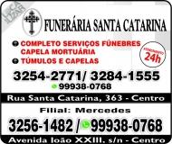 SANTA CATARINA FUNERÁRIA