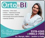 CIRURGIÃO DENTISTA BIANCHA QUINTANA / ORTODONTISTA / ORTO-BI