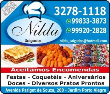 NILDA SALGADOS E CONGELADOS