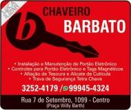 BARBATO CHAVEIRO
